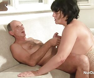 بلند, دختر فراهم داستان سکسی زن عمو جدید می کند رابطه جنسی مقعد و انگشت